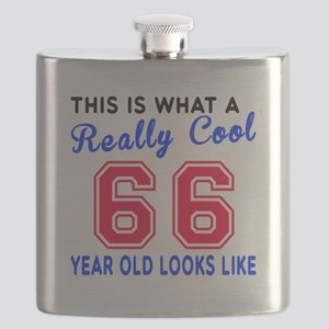 Really Cool 66 Birthday Designs Flask