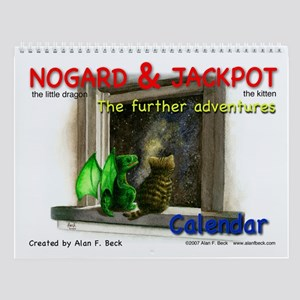 Nogard & Jackpot Further Adventures Wall Calendar