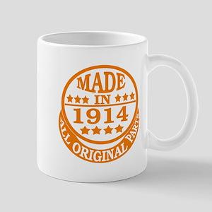 Made in 1914, All original parts Mug
