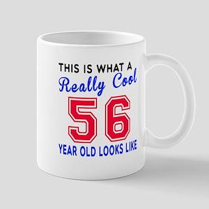 Really Cool 56 Birthday Designs Mug
