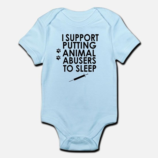 I support putting animal abusers to sleep Body Sui
