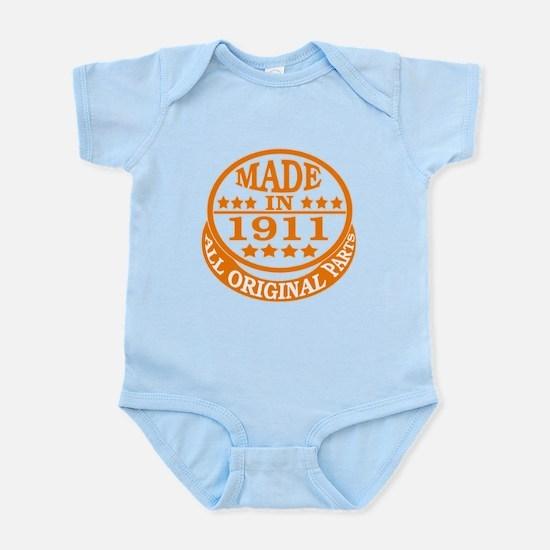 Made in 1911, All original parts Infant Bodysuit