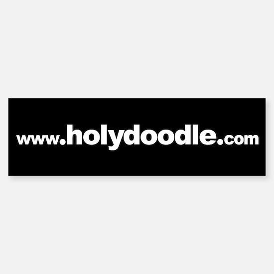 www.holydoodle.com Bumper Bumper Bumper Sticker