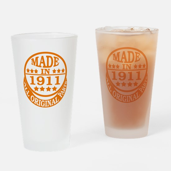 Made in 1911, All original parts Drinking Glass