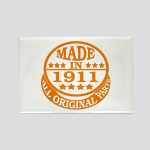 Made in 1911, All original parts Rectangle Magnet