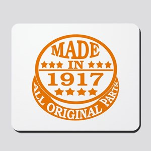 Made in 1917, All original parts Mousepad