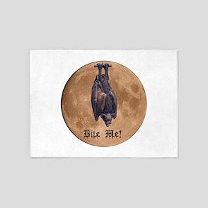 Bite Me Bat 5'x7'Area Rug