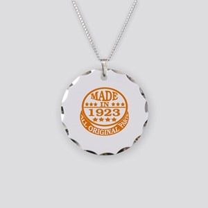 Made in 1923, All original p Necklace Circle Charm