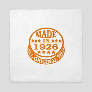 Made in 1926, All original parts Queen Duvet