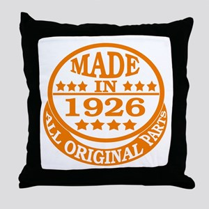 Made in 1926, All original parts Throw Pillow