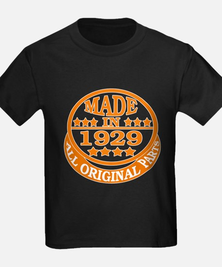 Made in 1929, All original parts T