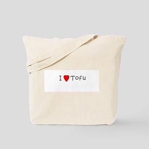 I <3 Tofu Tote Bag