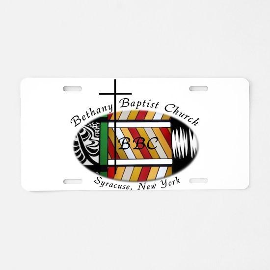 Unique Baptist Aluminum License Plate