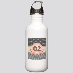 2nd Anniversary Gift C Stainless Water Bottle 1.0L