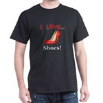 I Love Shoes Dark T-Shirt