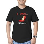 I Love Shoes Men's Fitted T-Shirt (dark)