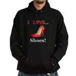 I Love Shoes Hoodie (dark)