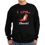 I Love Shoes Sweatshirt (dark)