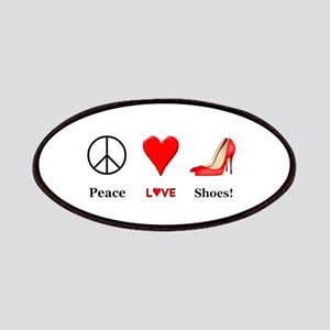 Peace Love Shoes Patch