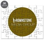 Brownstone MG Logo Puzzle