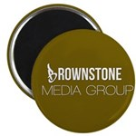 Brownstone MG Logo Magnets