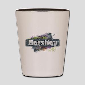 Hershey Design Shot Glass