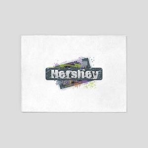 Hershey Design 5'x7'Area Rug