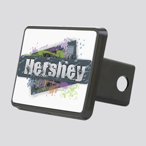 Hershey Design Rectangular Hitch Cover