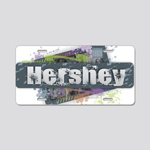 Hershey Design Aluminum License Plate