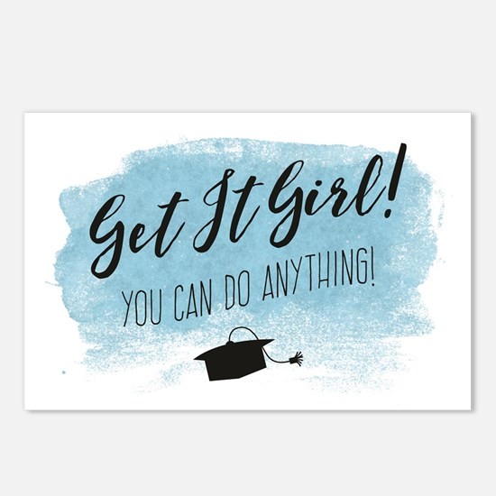 Graduation Card, Get it Girl! Postcards (Package o