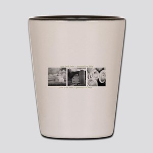 Your Artwork and Text here Shot Glass