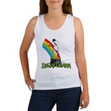 Peanuts st patricks day Women's Tank Tops