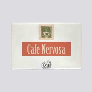 Frasier: Cafe Nervosa Rectangle Magnet