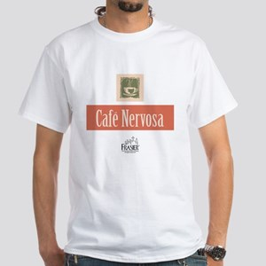 Frasier: Cafe Nervosa White T-Shirt