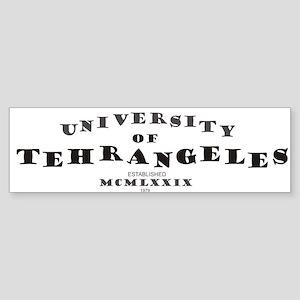 U. of Tehrangeles Bumper Sticker
