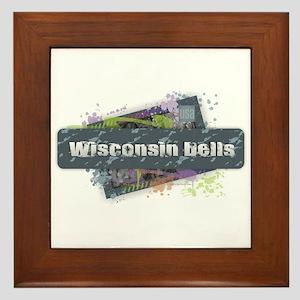 Wisconsin Dells Design Framed Tile