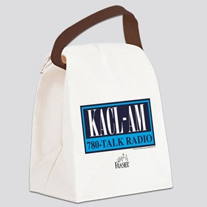 Frasier: Talk Radio Canvas Lunch Bag
