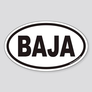 BAJA Euro Oval Sticker