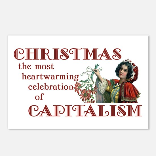 Capitalist Holiday Postcards (Package of 8)