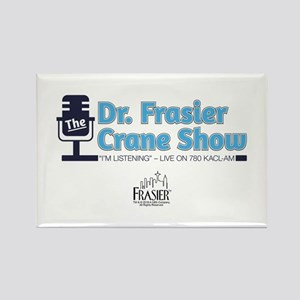 The Dr. Frasier Crane Show Rectangle Magnet