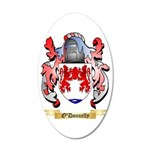 O'Donnelly 35x21 Oval Wall Decal