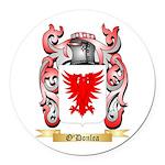 O'Donlea Round Car Magnet