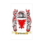 O'Donlea Sticker (Rectangle 10 pk)