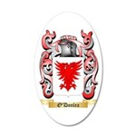 O'Donlea 35x21 Oval Wall Decal