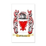 O'Donlea 35x21 Wall Decal