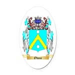 Odone Oval Car Magnet