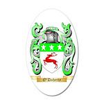 O'Doherty 35x21 Oval Wall Decal