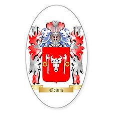 Odium Sticker (Oval)