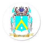 Odinga Round Car Magnet