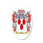 Odger 20x12 Oval Wall Decal